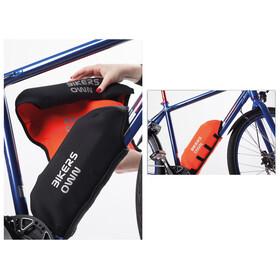BIKERSOWN Beskyttelse til rammebatteri Beskyttelse til Bosch Powerpack 300/400 orange/sort